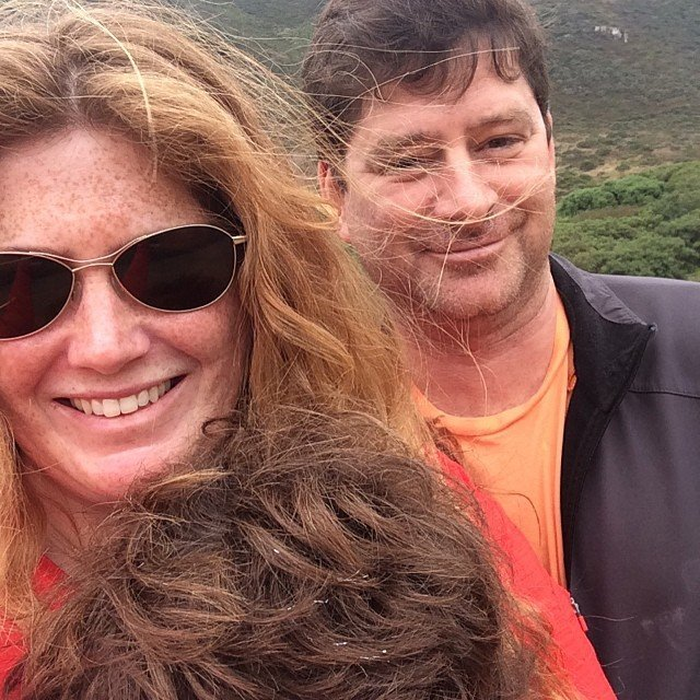Stefan's birthday hike in Tennessee valley
