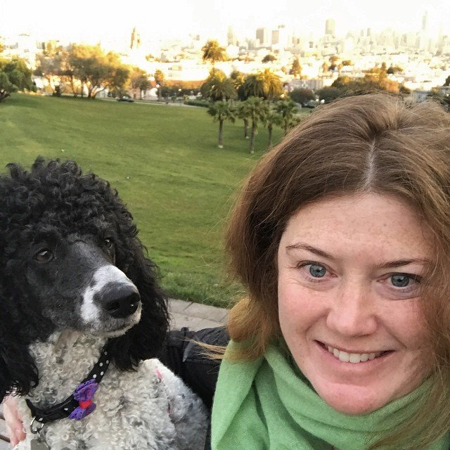 Dandy and I sunrise #dolorespark #living415